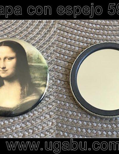 Mona lIsa Espejo para tu bolso