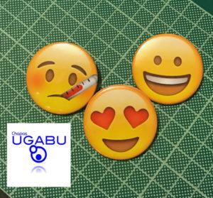 chapas emoji comprar