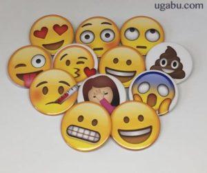 emojis chapas divertidas