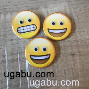 chapas emoji con ojos