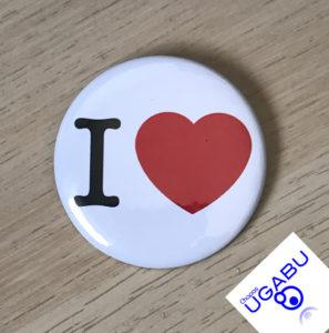 I love Pin Button