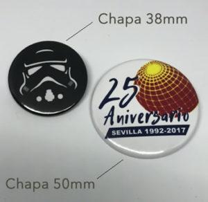 Chapas Expo Sevilla 92