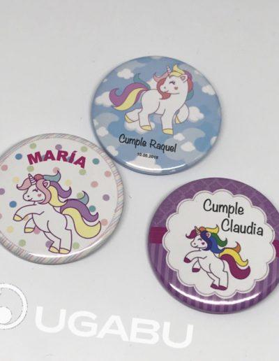 Chapas Unicornios