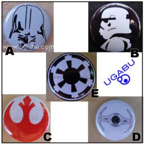 Star Wars Chapas