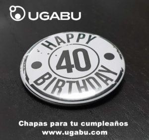 Chapas cumpleaños