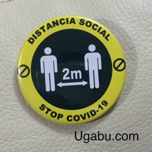 Chapa Distancia Social